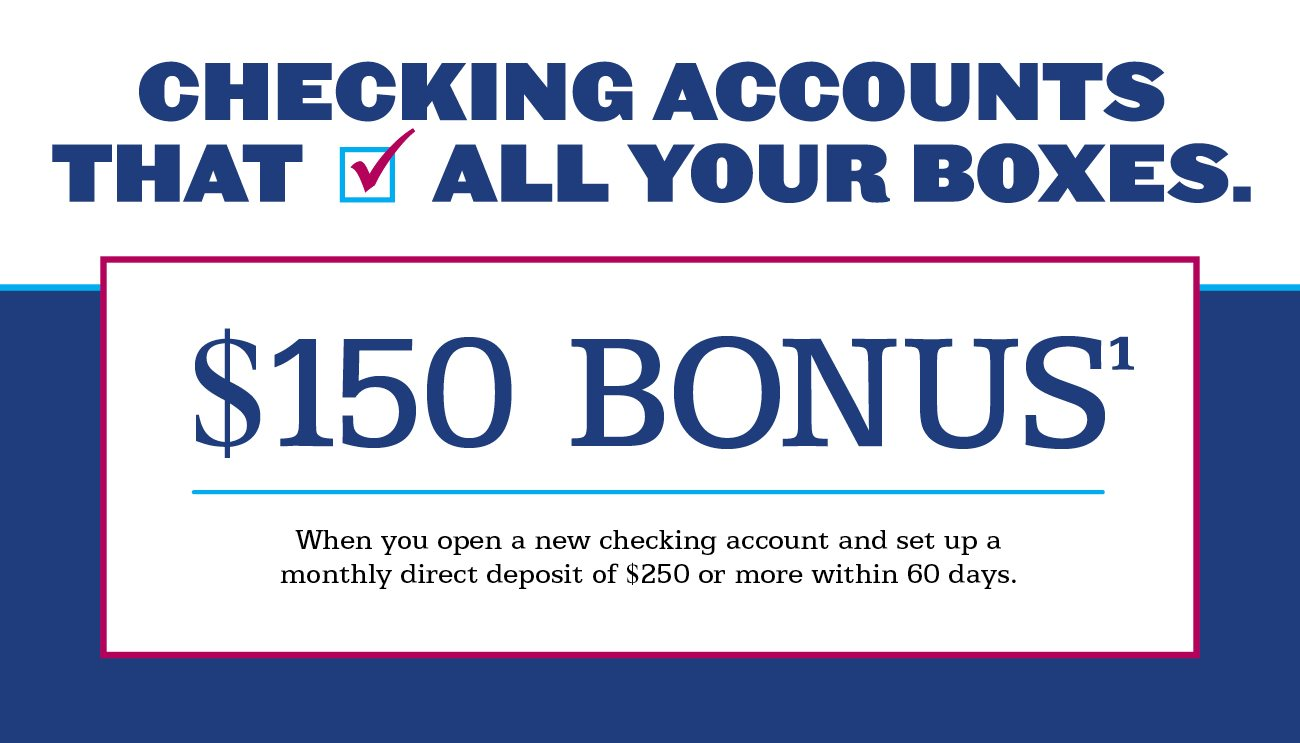 Get a $ bonus when you open a new Chase Total Checking® account and set up direct deposit. Get a $ bonus when you open a new Chase Savings (SM) account, deposit a total of $10, or more in new money within 20 days, and maintain a $10, balance for 90 days.